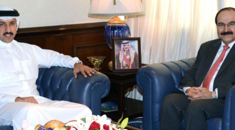 The Minister of Electricity and Water Affairs Meet the Chairman of Derasat