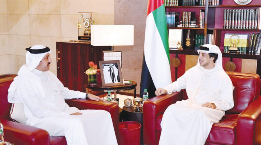UAE Deputy Premier Receives Derasat Chairman