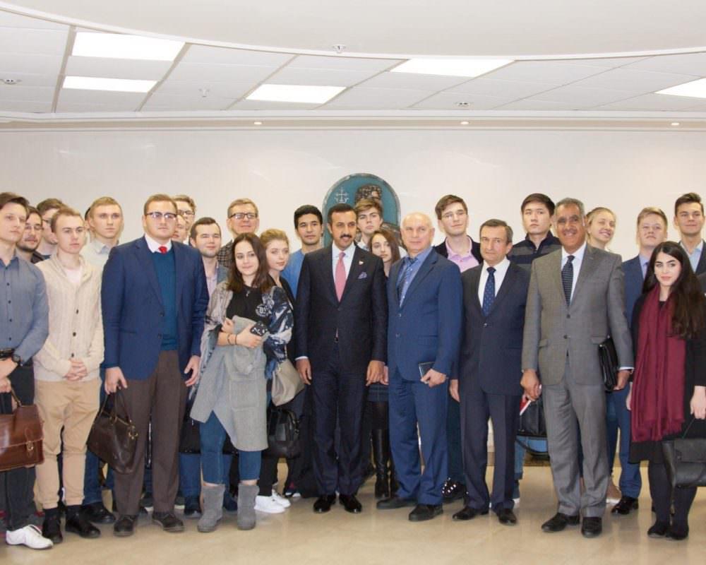 شراكة استراتيجية بين البحرين وروسيا: محاضرة في معهد موسكو للعلاقات الدولية