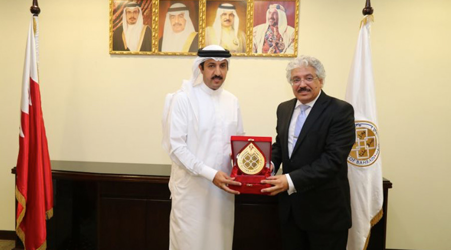 Research Cooperation Memorandum With the University of Bahrain