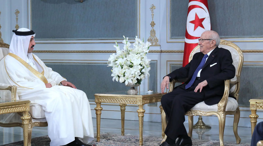 Tunisian President Receives Derasat Chairman at Carthage Presidential Palace