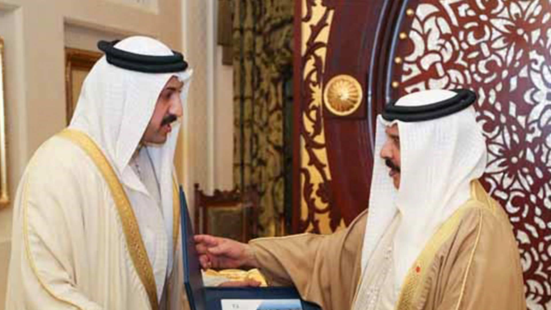 HM King receives DERASAT Chairman