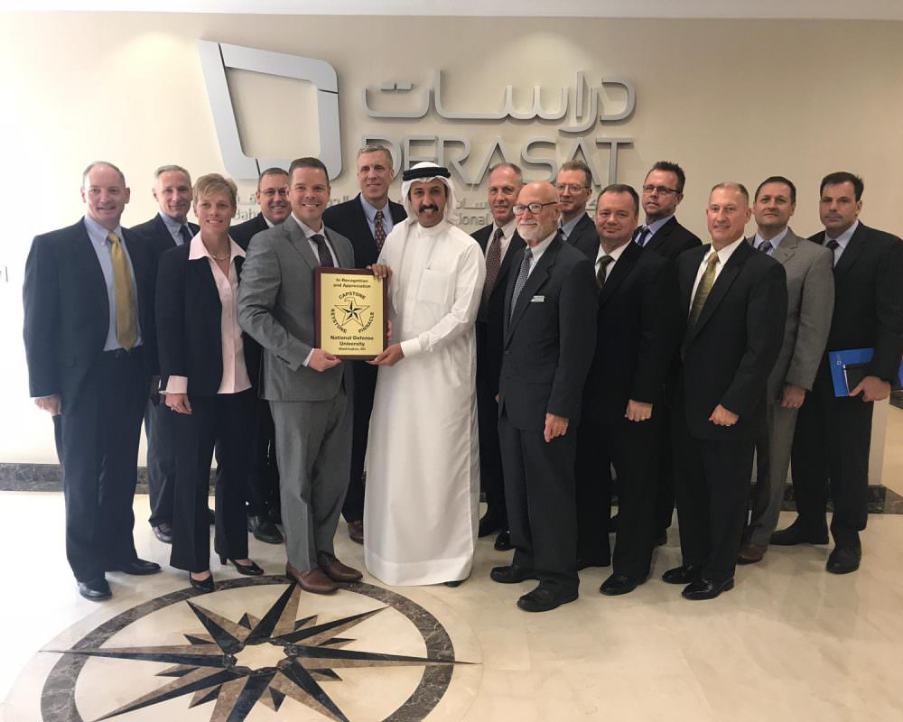 Derasat Welcomes US National Defense University Delegation