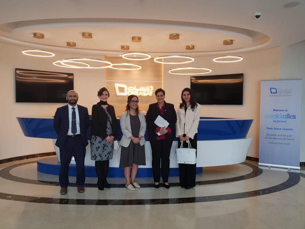 International Peace Institute (IPI) visit DERASAT