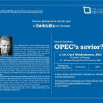 Iranian Sanctions: OPEC's Saviour?
