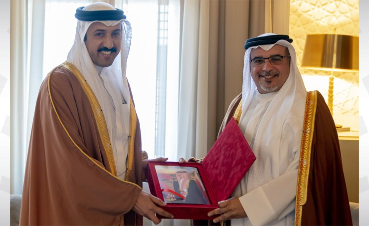 Deputy King receives Chairman of DERASAT
