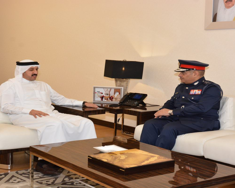 DERASAT Board of Trustees Chairman receives Public Security Chief