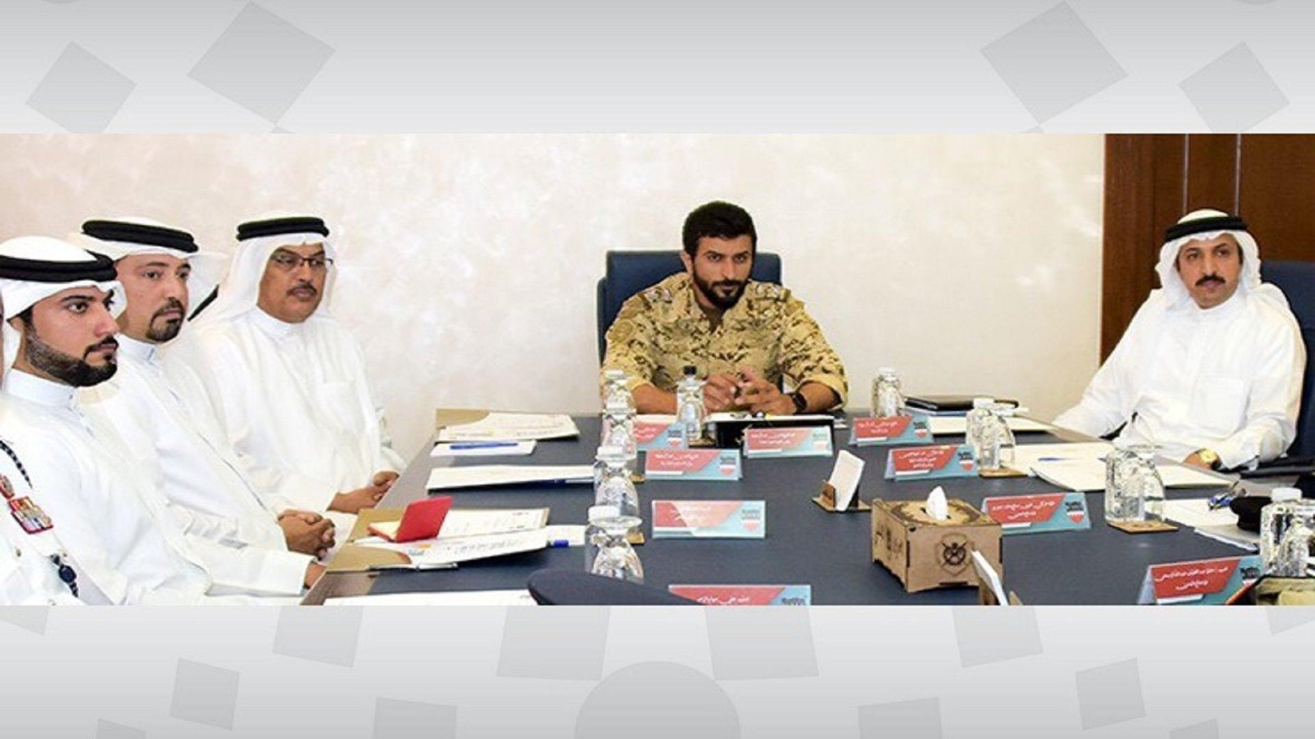 سمو قائد الحرس الملكي يترأس الاجتماع التنظيمي لمعرض ومؤتمر البحرين الدولي للدفاع 2019م