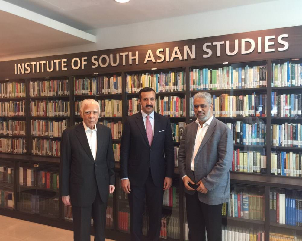 Meetings held with the Institute for South Asian Studies (ISAS)