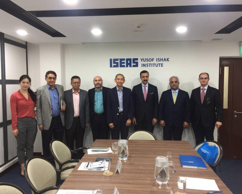 Derasat in Talks with the Yusof Ishaq Institute (ISEAS)