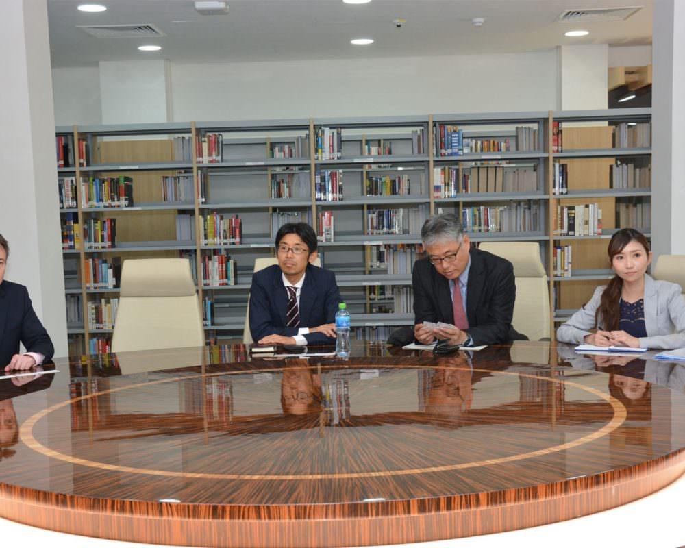 Japan Bank for International Cooperation (JBIC) visits Derasat