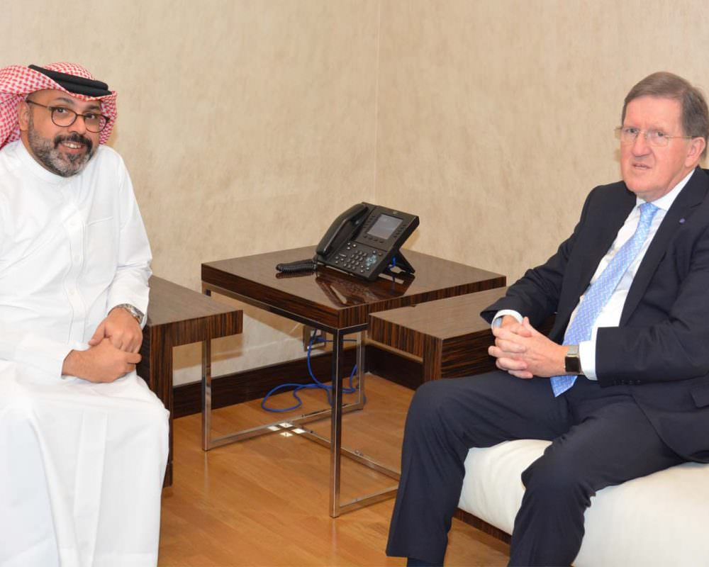 The Rt Hon Lord Robertson visits Derasat