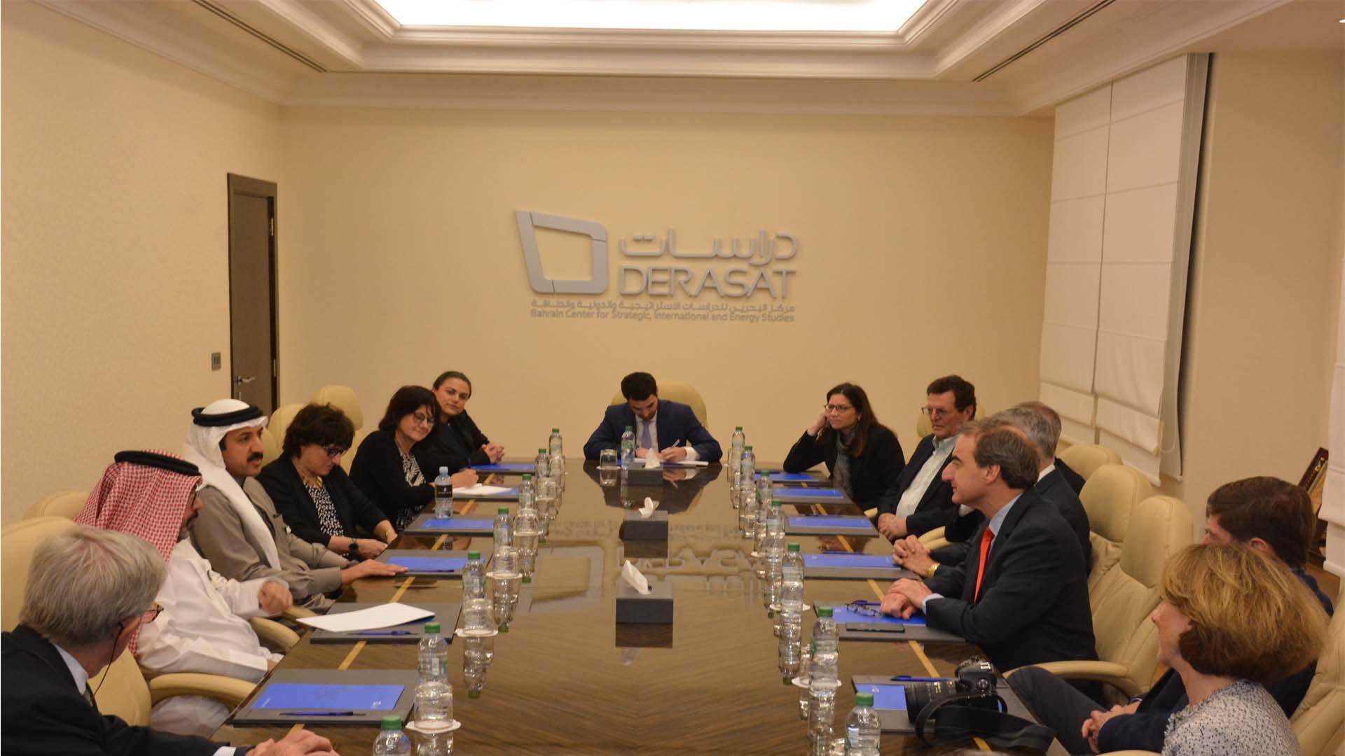 American Jewish Committee visits Derasat