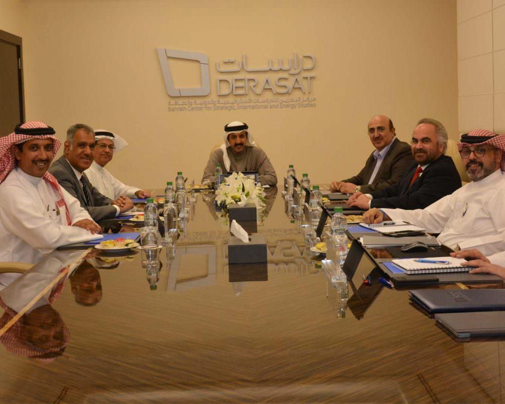 Board of Trustees reviews Derasat Activities