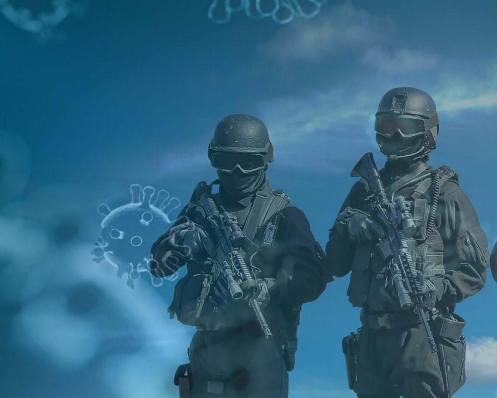 دور الجيوش في مواجهة أزمة كورونا