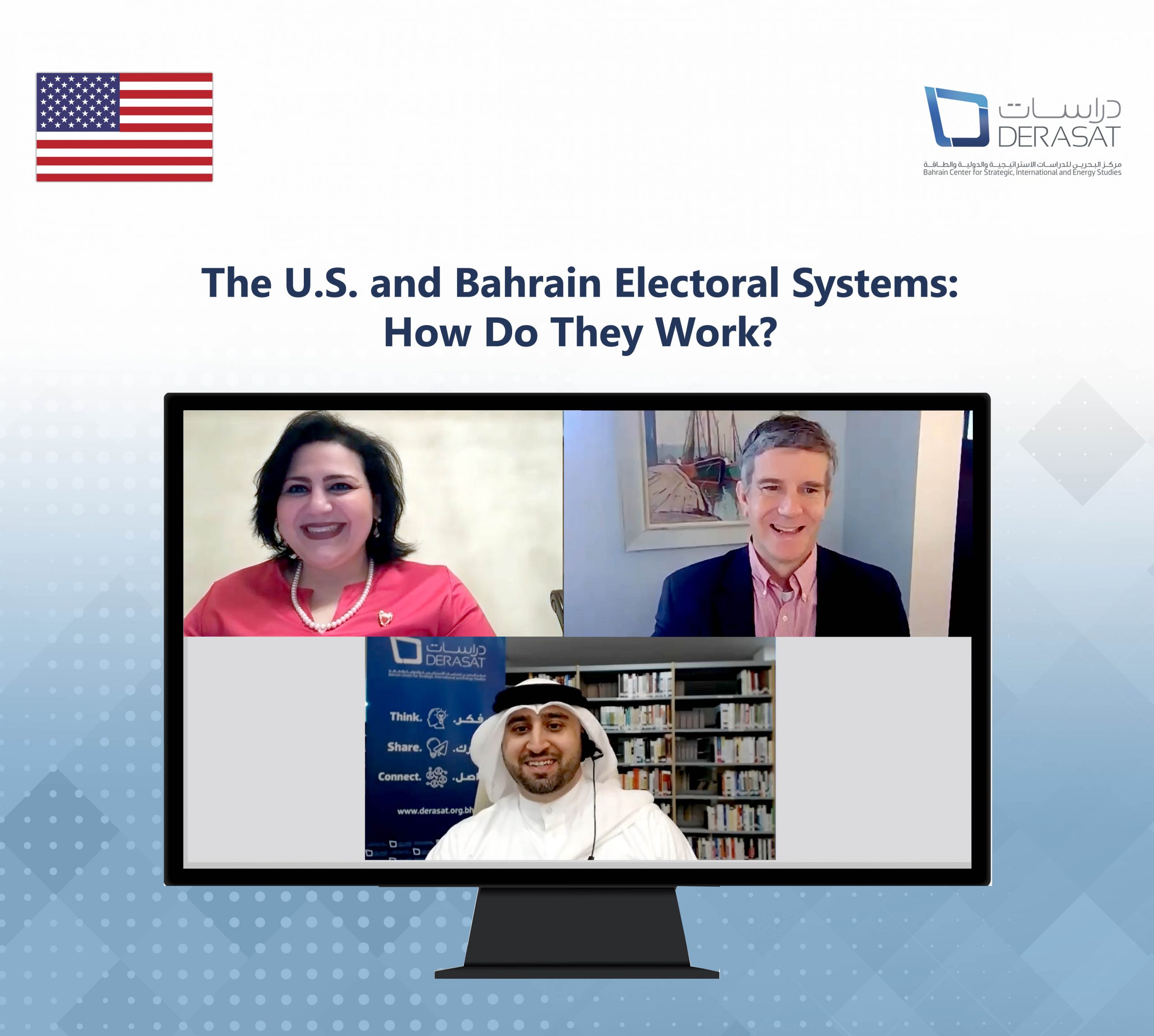 "Virtual ThinkTalk: ""The U.S. and Bahrain Electoral Systems: How Do They Work?"""