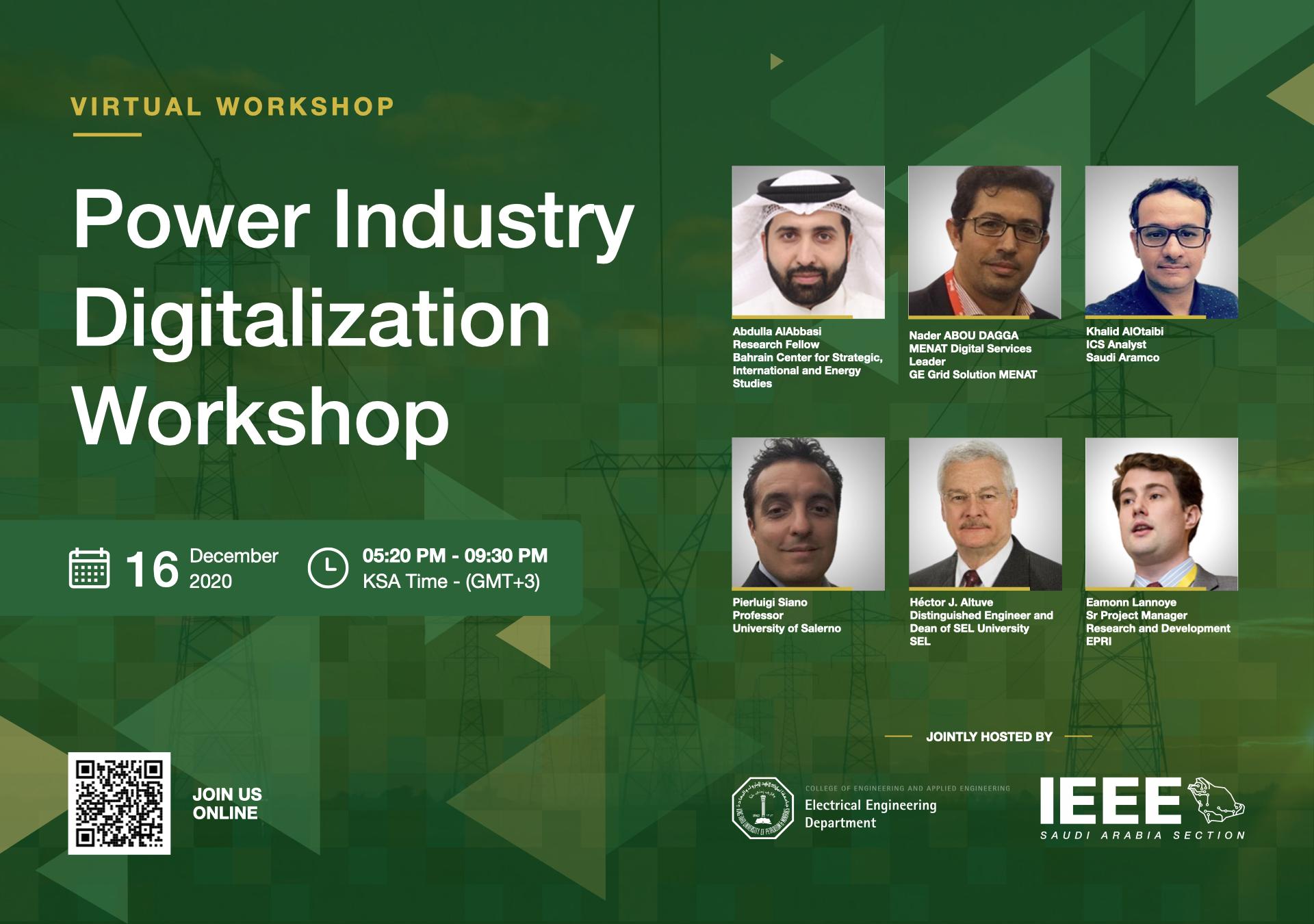 2020 Power Industry Digitalization Workshop