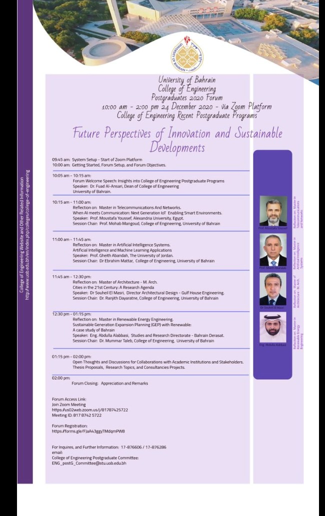 Derasat's Participation in UOB's Postgraduates 2020 Forum