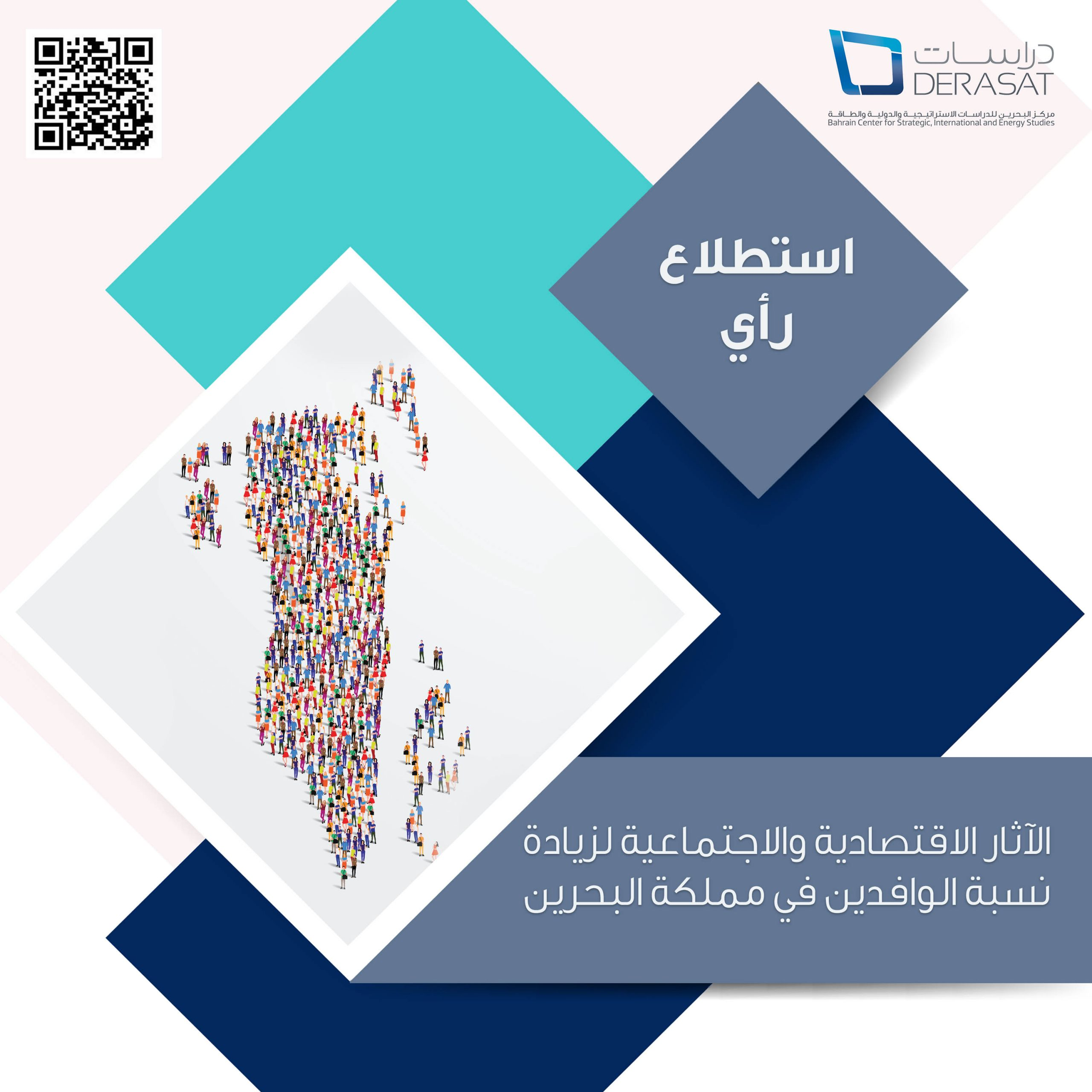 "Opinion poll on ""The economic and social impacts of migrant workers in the Kingdom of Bahrain"""
