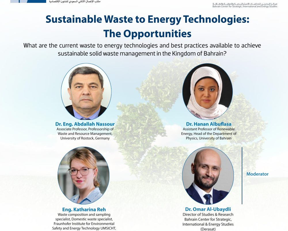 Sustainable Waste to Energy Technologies: The Opportunities