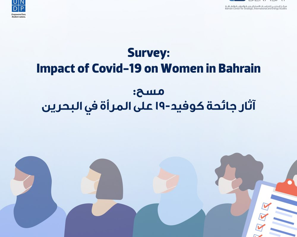 """Opinion poll on """"The Impact of COVID-19 on Women in Bahrain"""""""